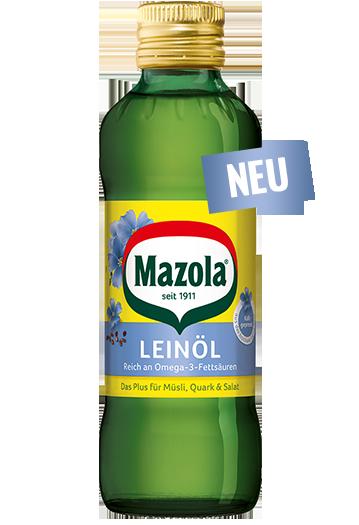 Spezialöle: Mazola® Leinöl