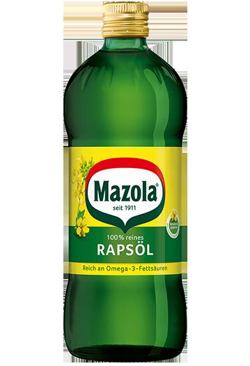 Basisöl: Mazola® Rapsöl